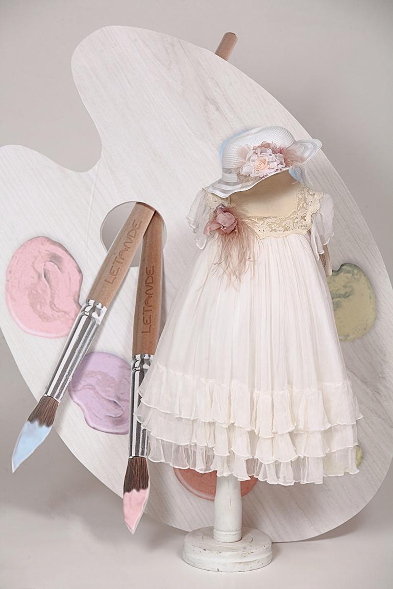 βαπτιστικό φόρεμα | letante | 8013
