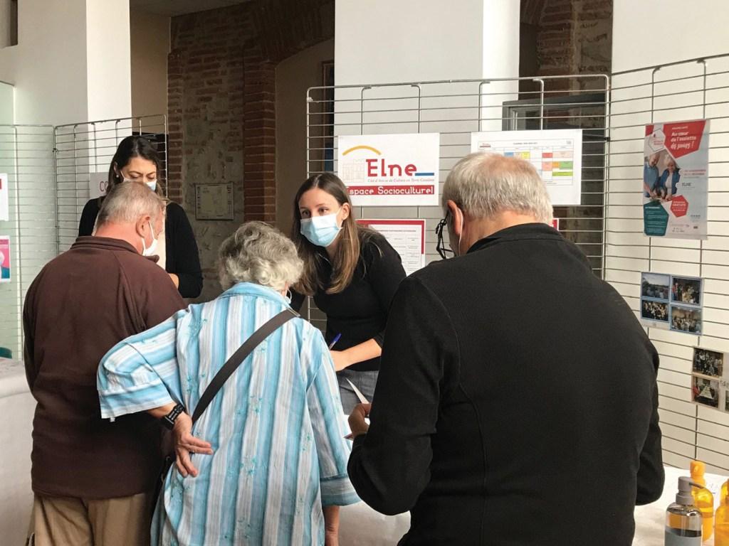 Elne Rencontre séniors et leur famille