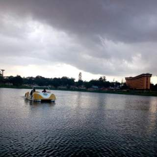 lac central de Yaoundé
