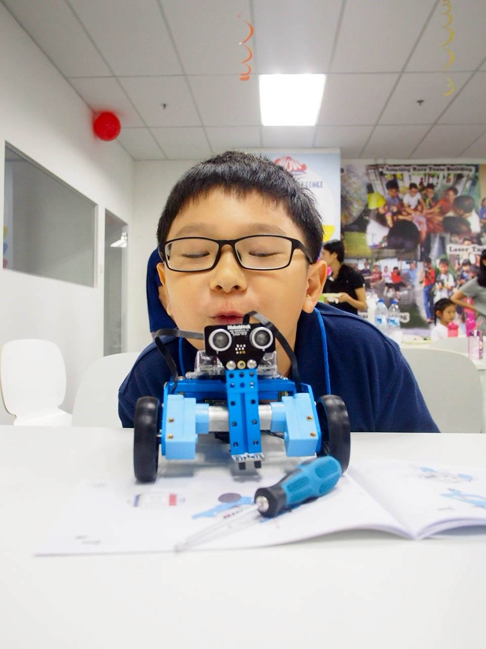 robotics class for kids