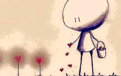 Offrir de l'amour au monde