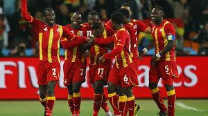 Black Stars du Ghana. Ils ont créé l'exploit en 2010