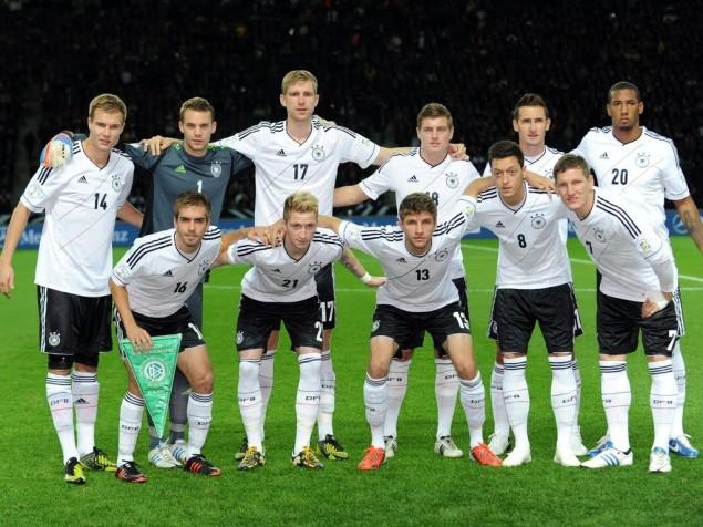 L'Allemagne, deuxième équipe du monde du classement FIFA