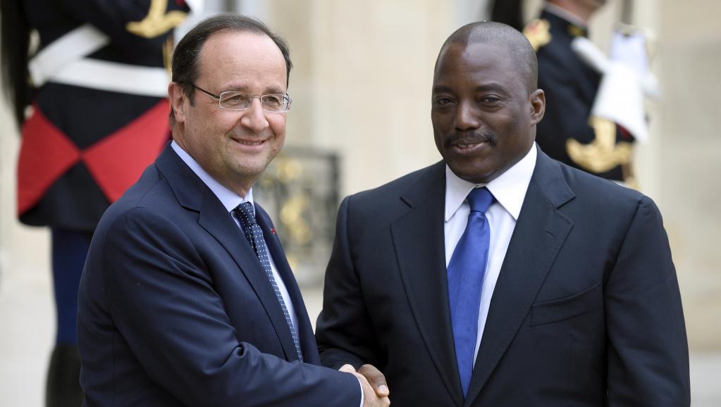 Kabila et Hollande
