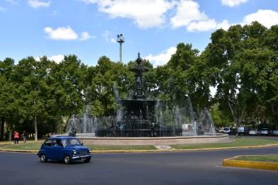 Mendoza - fountains are literally everywhere