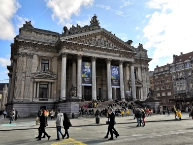 Brusel - Expo Van Gogh - Brussels Stock Exchange - Place de la Bourse