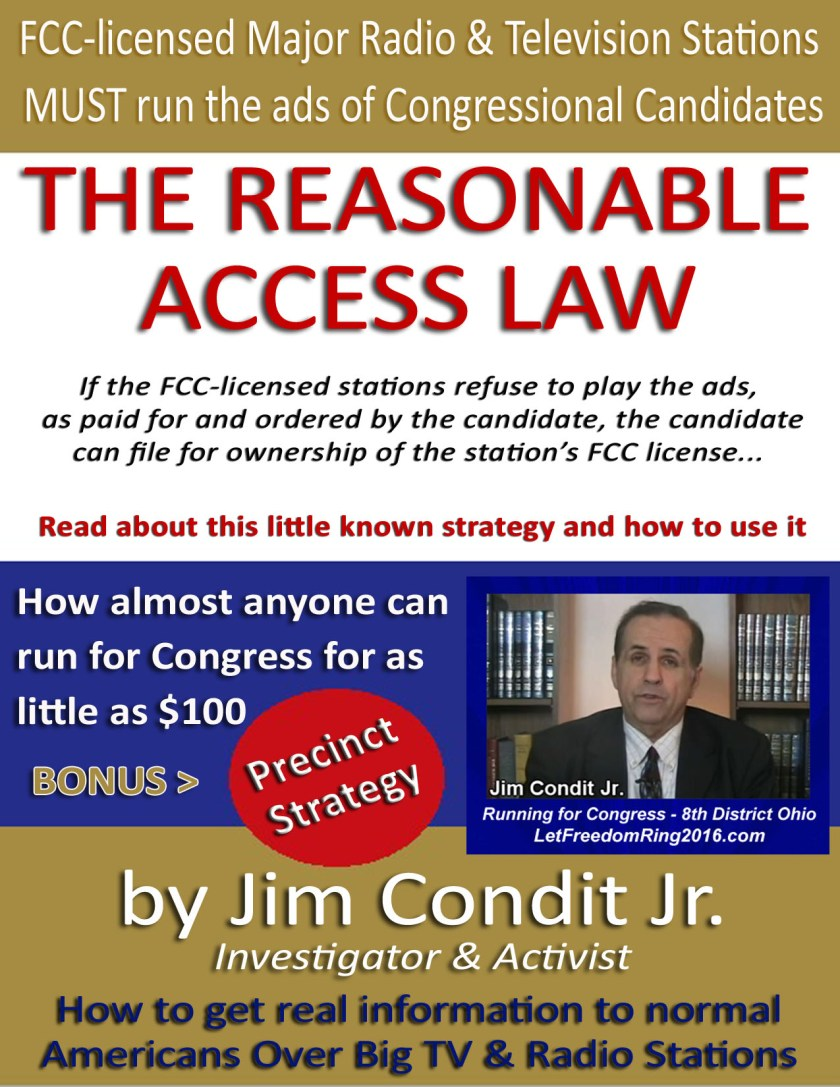 The Reasonable Access Law Small copy