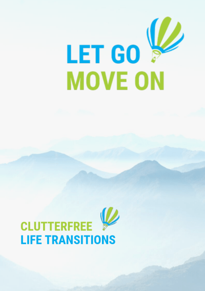 Cover Let Go - Move On Flyer DIN A 4