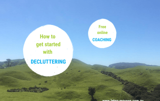 How to get started with decluttering - Free online coaching