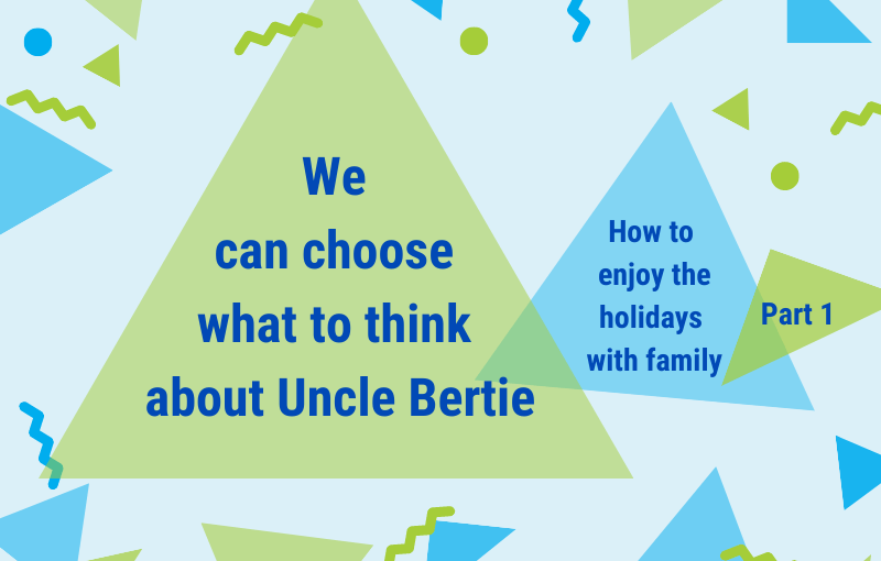 What do you want to think about your family