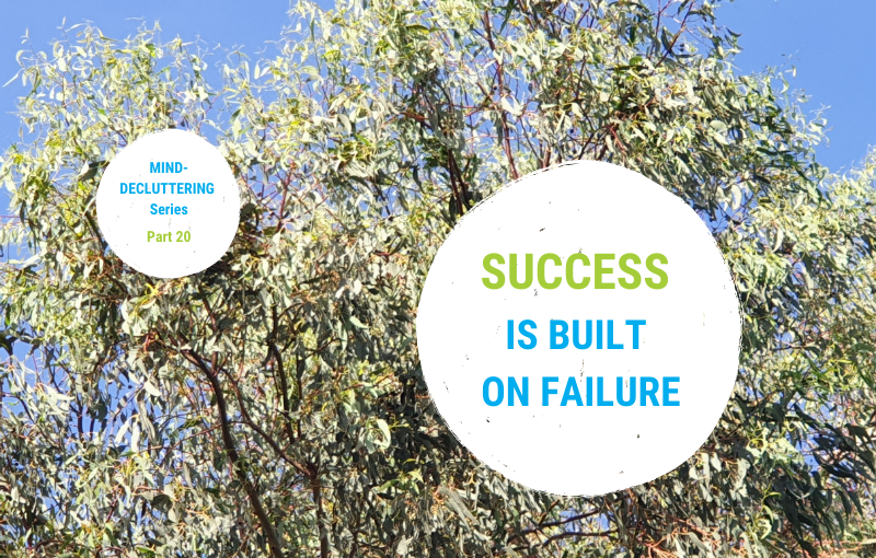 Why we need failure on our way to success