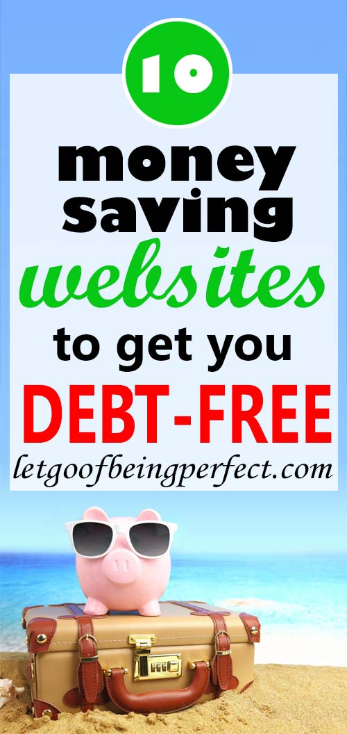 My top 10 money saving websites to keep me penny wise. Teach yourself to save more money, reduce your debt, be frugal, and become the ultimate cheapskate. Earn more coins in your piggy bank! Whether you are just looking to save some cash for your vacation or holiday fund, build up your 401(k) or retirement, eliminate your credit card debt, create a nest egg, get six months salary in the bank, or just live below your means, check these sites out to help you reach your goals in 2017.