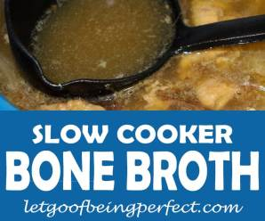 Bone Broth Soup Recipe – In a Slow Cooker