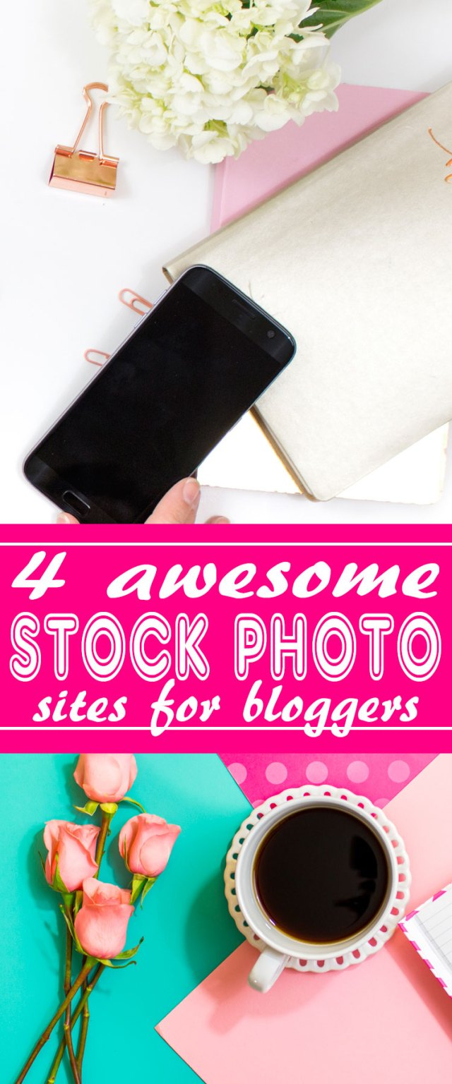 Photography is so important for blog posts. These 4 stock photography sites were created just for bloggers like you. All offer free stuff for bloggers (such as a bunch of free flat-lay photos), inexpensive packages, and most of all -- awesome photographs! Bloggers can create hundreds of different images, instantly, for all of your blog posts and social media content! Make your blog beautiful. :) http://letgoofbeingperfect.com