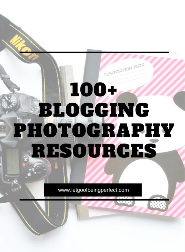 100+ Blogging Photography Resources - A massive resource guide for capturing beautiful blog photographs! Perfect for iPhone, Android, beginngers, or even advanced peeps who want to polish their skills. Photoshop, Lightroom, and Elements ideas to modify and fix up your pictures and images. Explore the web site for more step-by-step tutorials, especially upcycling and refashioning how-tos. Also check out my blogging & photograph tips! http://letgoofbeingperfect.com