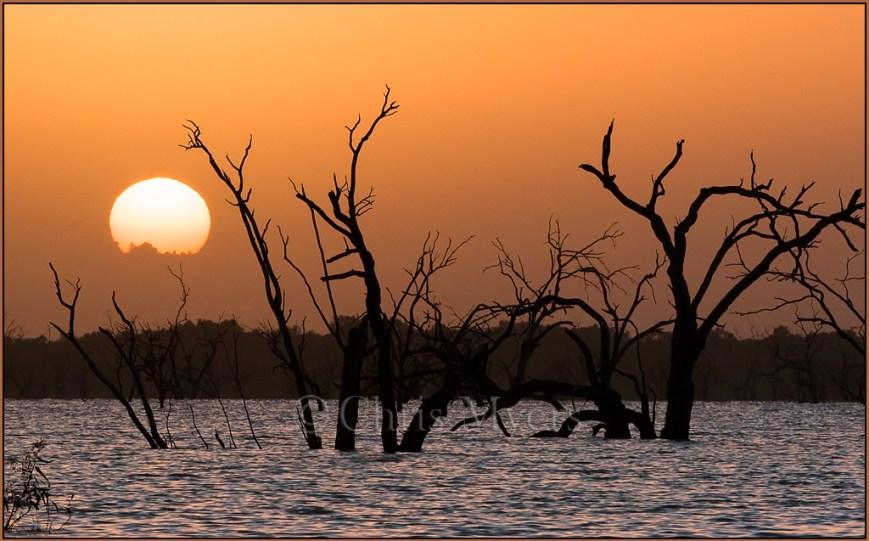 Sunrise at Lake Wetherill