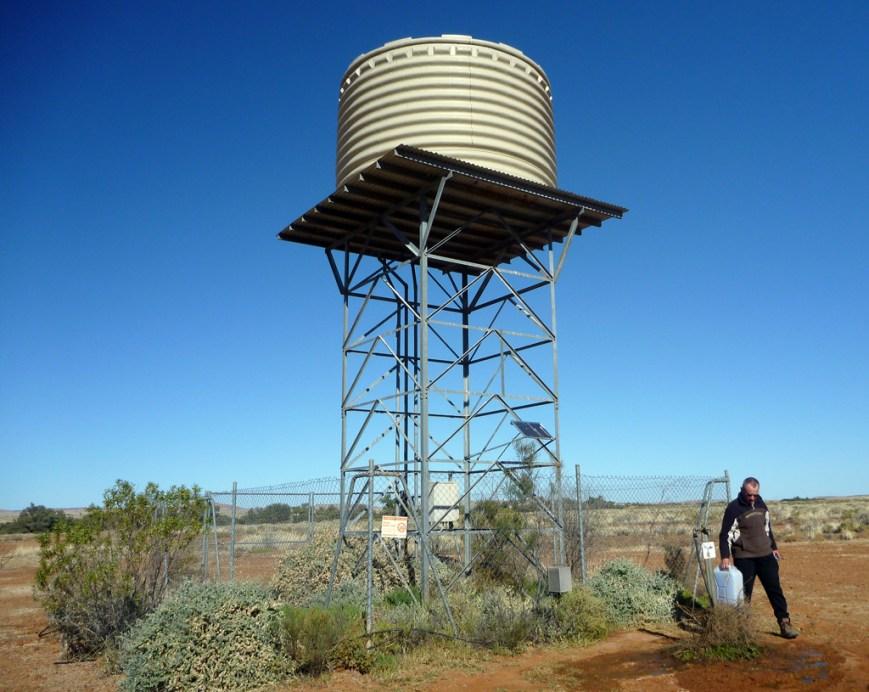 Water-tower at 3 O'Clock Cree