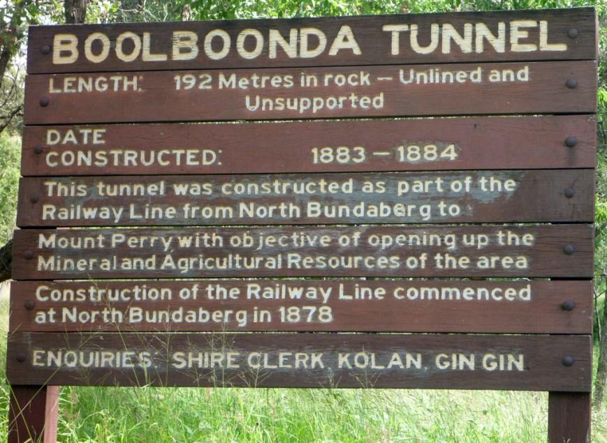 Boolboonda-Tunnel