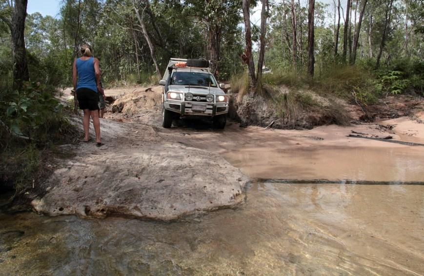 Crossing-Cholmondeley-Creek