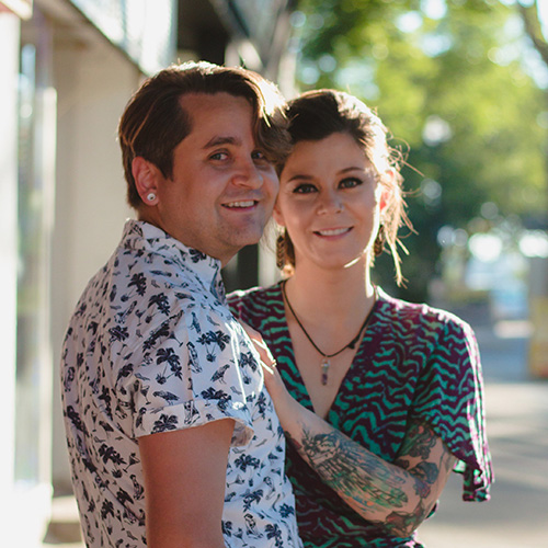 Jonathan & Melissa, the Lethbian Lovers