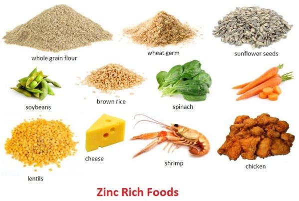 Zinc Rich Foods Foods High in Zinc