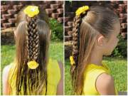 simple braids kids