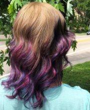 cool ideas lavender ombre