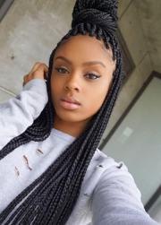 fancy french braids black women