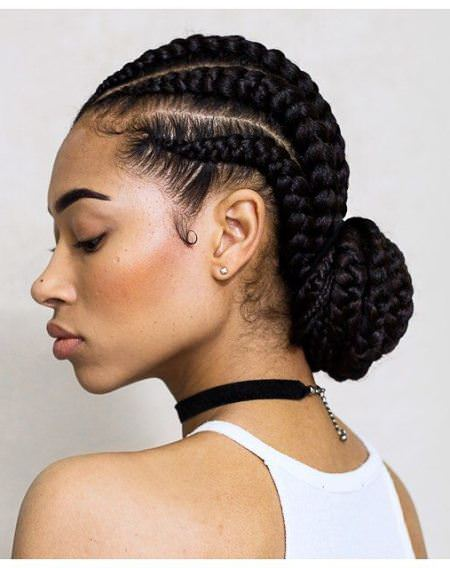 Simple Cornrow Hairstyles For Natural Hair