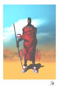 """""""MasaiINDunks"""" by Hanson Akatti"""