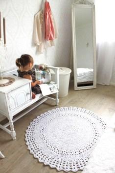 tapete-de-barbante-croche-no-quarto-infantil-ambiente-decorado-circular-branca-nórdico-escandinavo-vintage