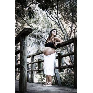 sesión de fotos de embarazo en soria