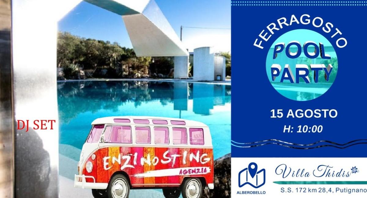 ferragosto pool party