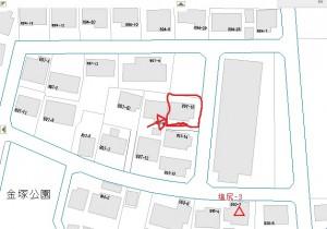 20160430塩尻市 カフェ 地図