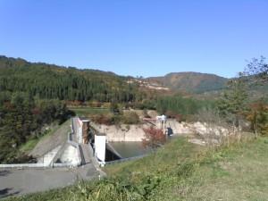 皆瀬ダム (4)ダム湖
