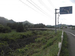 川井橋付近 国道108号