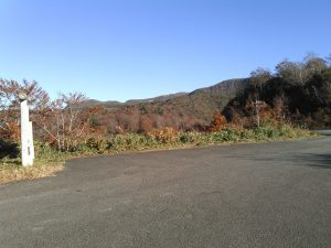 須川湖キャンプ場 駐車場