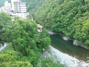 川面 阿賀川