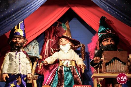 Léo, Rosabella et Giuseppe.