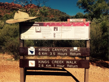 Kings canyon - Australie