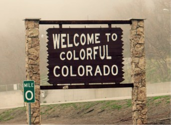 Welcome to Colorado - Etats-Unis