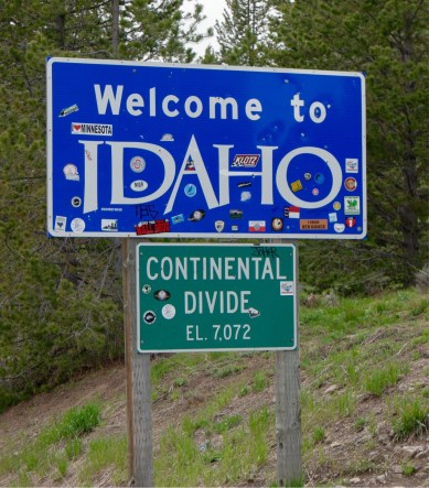Welcome to Idaho - Etats-Unis