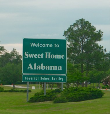 Welcome to Alabama - Etats-Unis