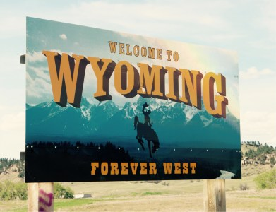 Welcome to Wyoming - Etats-Unis