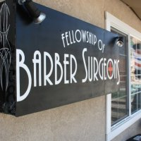 Barber Surgeons San Diego Sign