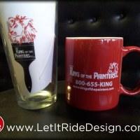 Custom Printed Glassware