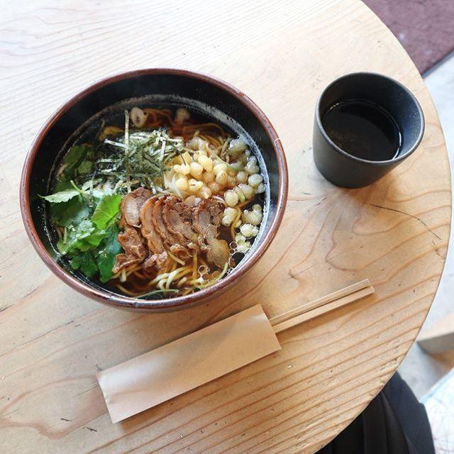 無性に食べたくなり六地蔵のふくやへ。あっつい鳥中華。うまいー! (Instagram)