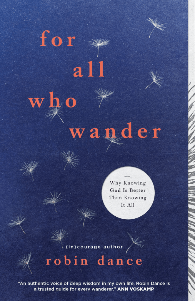 For All Who Wander, Robin Dance (Book Review)