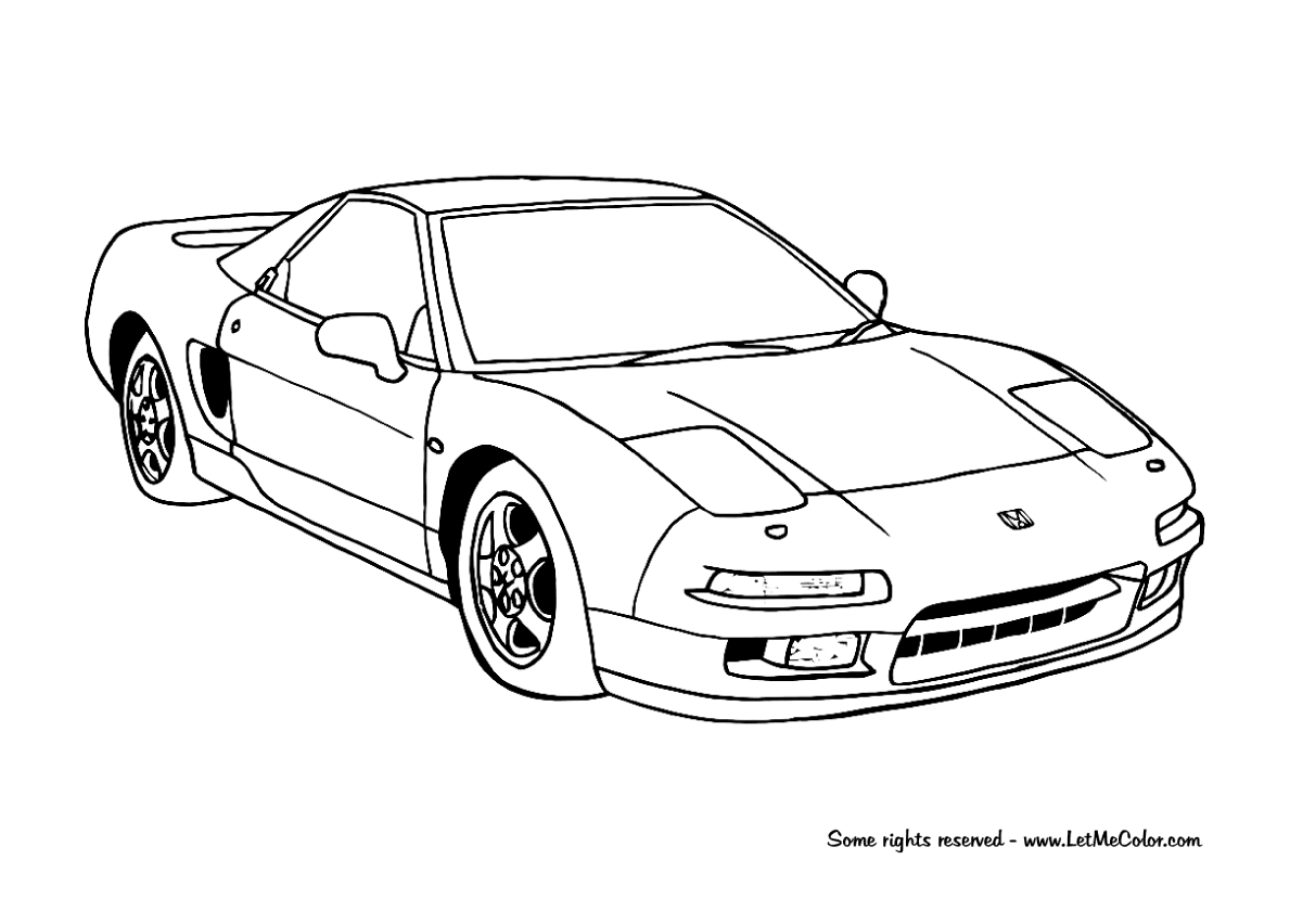 coloring supercars – Page 3