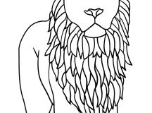 Lion-Coloring-Page